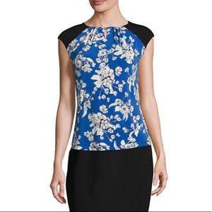 🆕$49 Ivanka Trump Floral Blouse